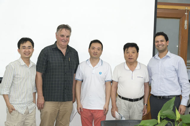 Australia Customer Visit Our company